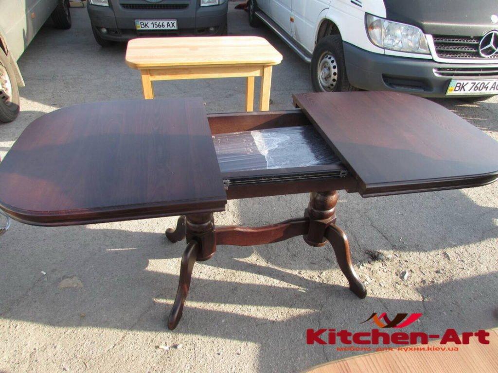 деревянный стол для кухни на заказ