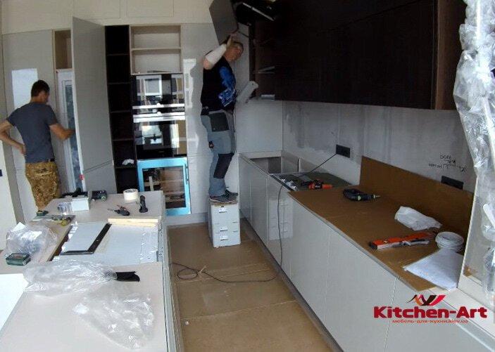 производство кухни в Вишневом под заказ
