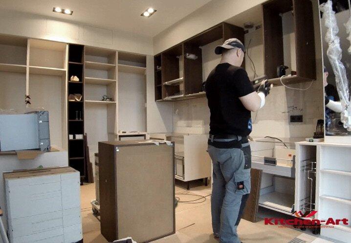 кухонная мебель под заказ Софиевская Борщаговка недорого