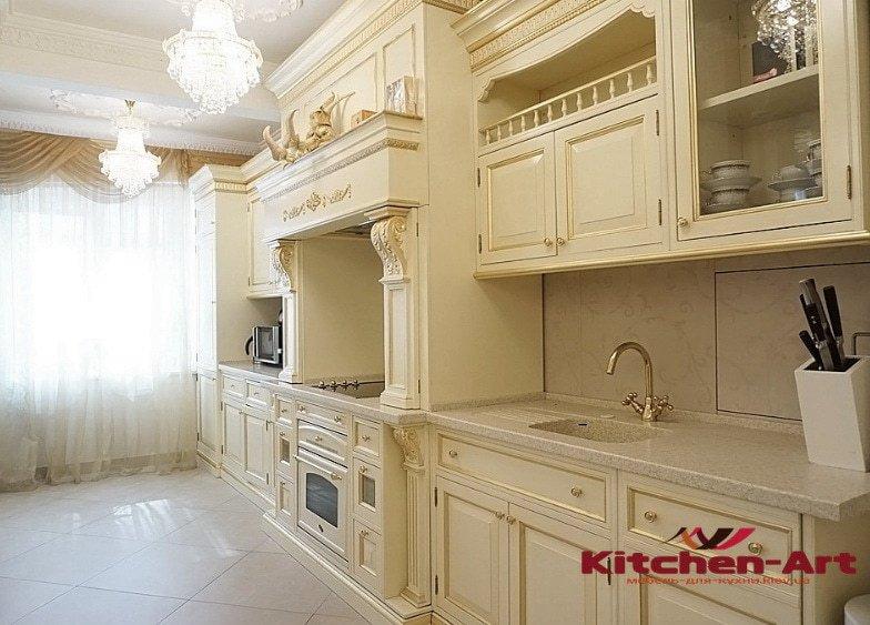 деревянна кухня под заказ в Борисполе