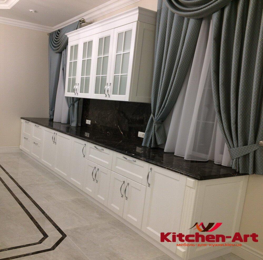 кухня из массива дерева Борисполь