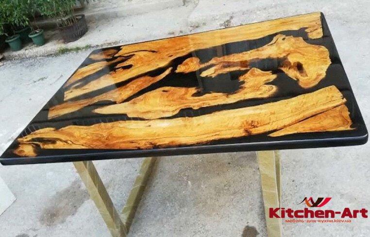 изготовление столов река под заказ