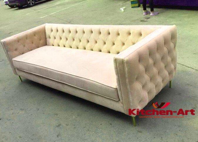 белый диван на заказ