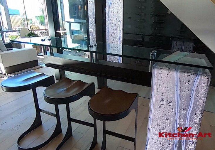 дизайнерская барная стойка для кухни