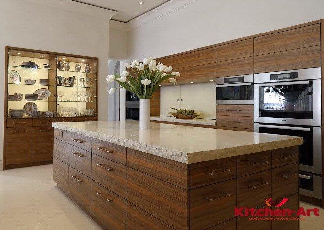 Функциональный кухонный остров от производителя