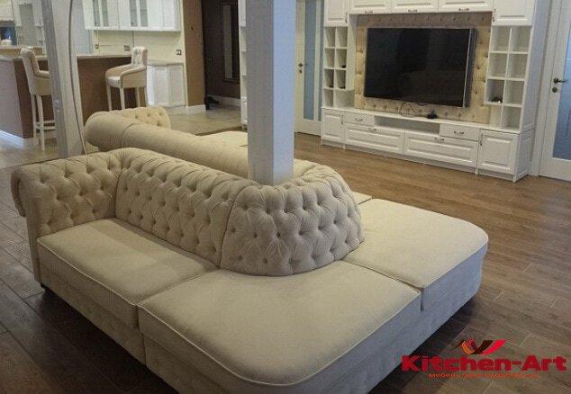 заказной диван модульный