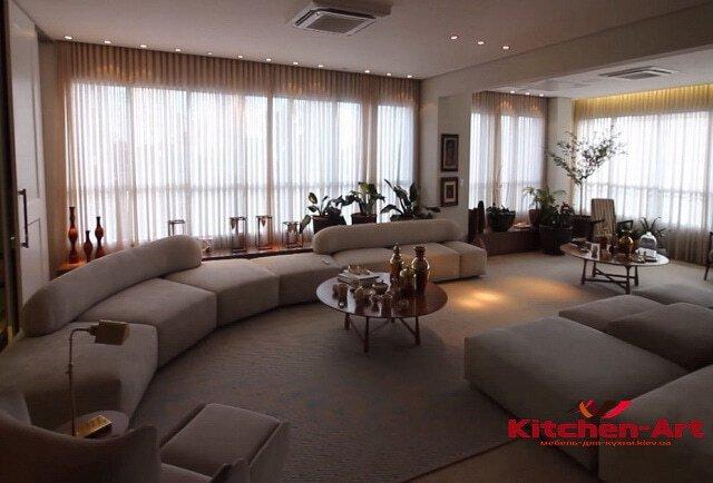 модульный диван в гостинную под заказ