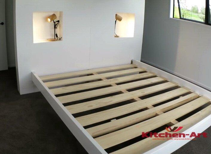 Кровать с мдф на заказ