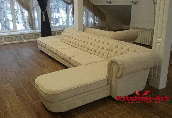 элитный диван в кухню