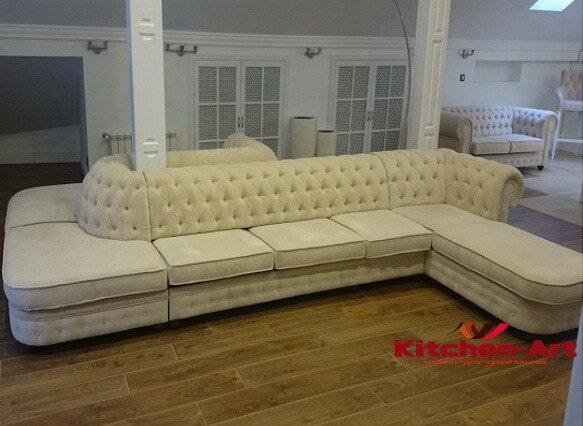 элитный модульный диван дом