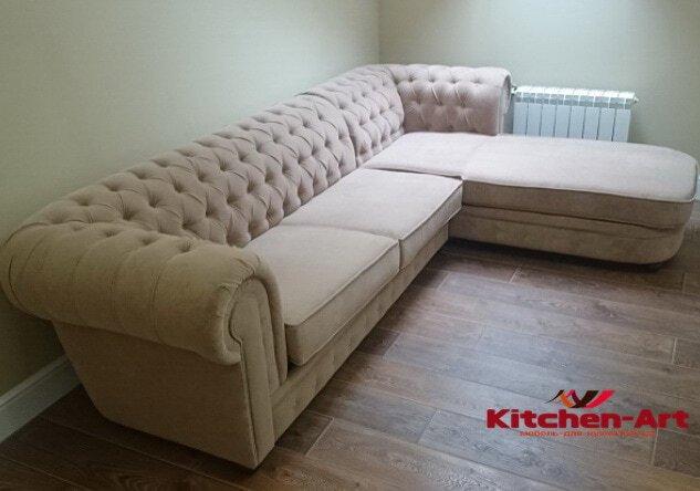 стоимость изготовления мягкой мебели на заказ в Буче