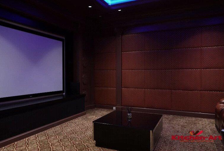 мягкие панели в домашний кинотеатр