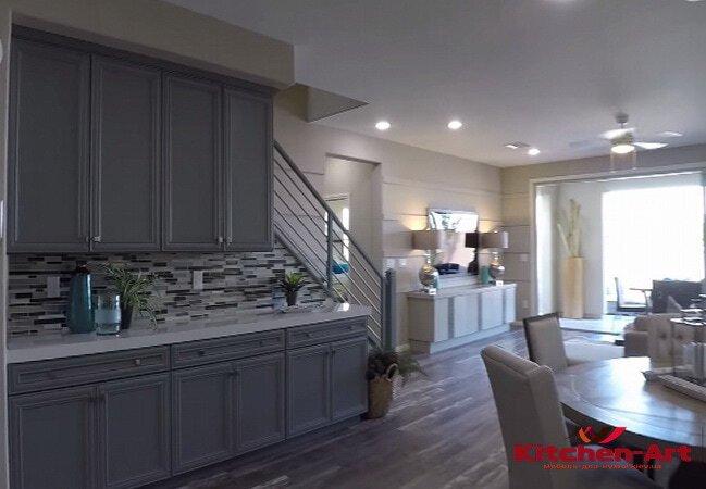 добовая кухня в дом