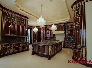 дизайзенская кухня из ольхи