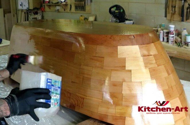 производство моек из дерева