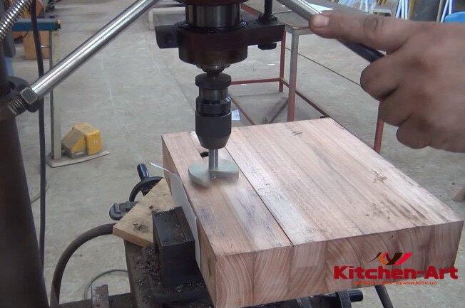 Деревянные раковины производство