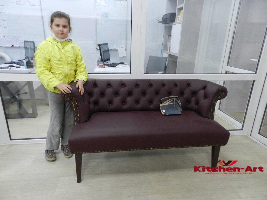 элитный диван с перетяжкой на заказ