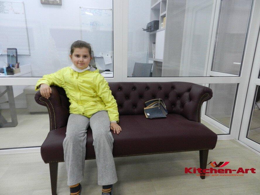 элитный диван с перетяжкой