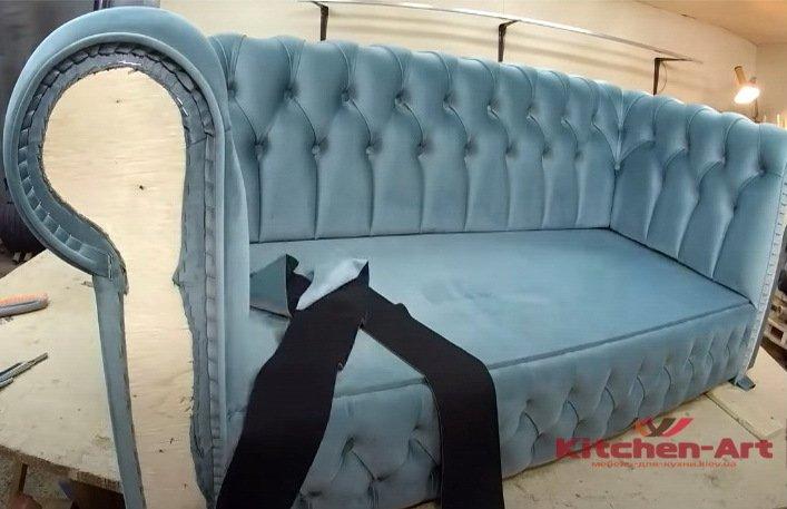 как делают диваны под заказ Украина