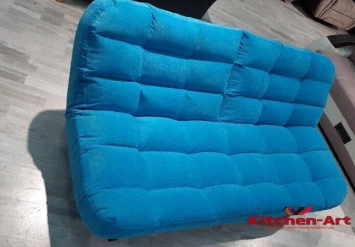 синий авторский диван