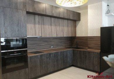 Кухня с фартуком из дсп в Киеве