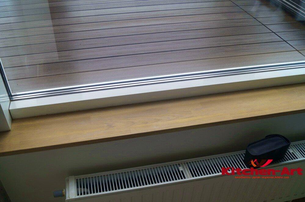 изготовление и установка подоконников из дерева в новостсрое