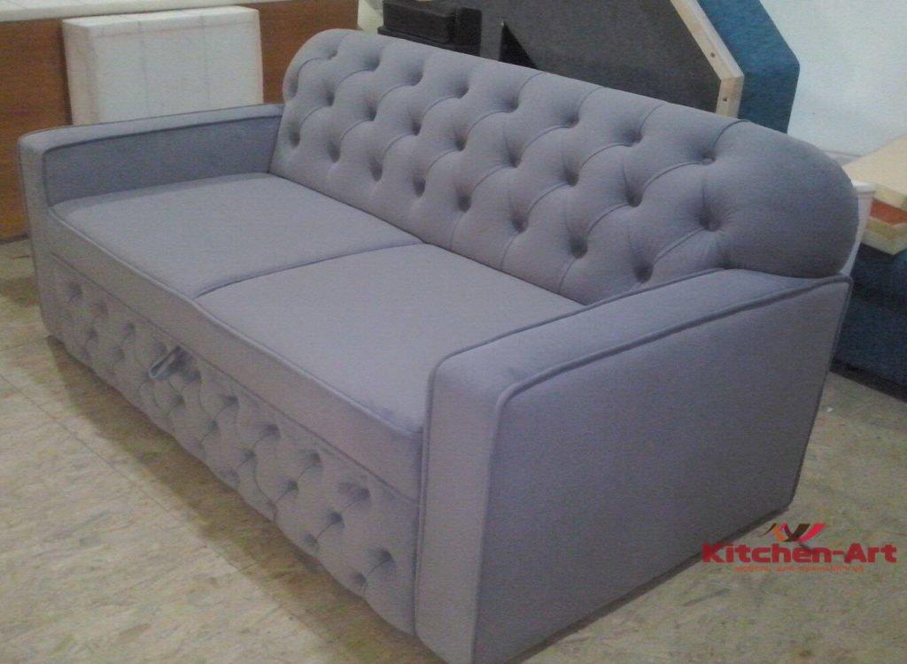 розовый диван честер под заказ