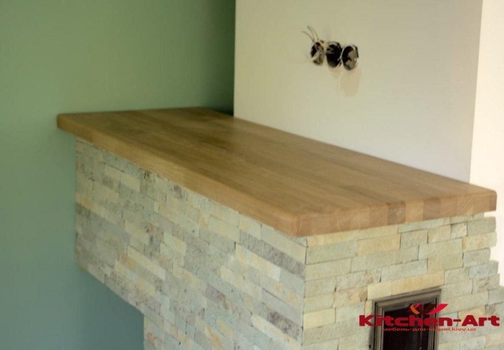 подоконник-столешница из дерева на заказ