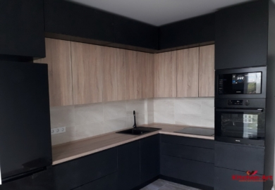 угловая современной мебель для кухни