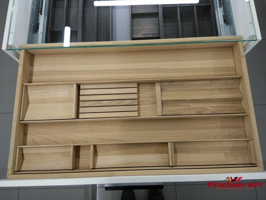 бамбуковый органайзер для кухни