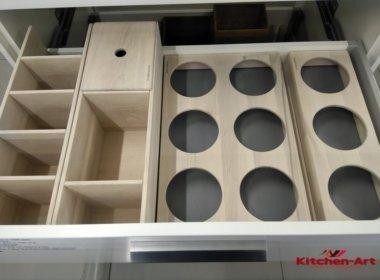 варианты органайзера для кухни