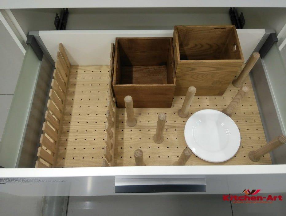 органайзер для кухни из бамбука на заказ