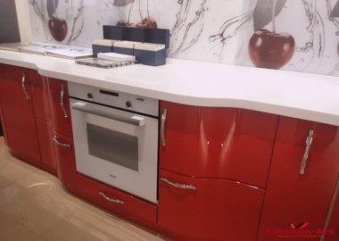 дизайн проект радиусной кухни