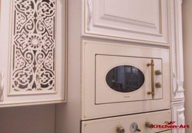 фрезеровка деревянной кухни